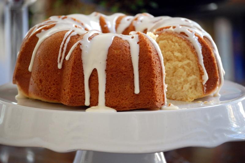 Eggnog Bundt Cake With Cake Mix