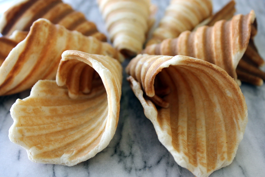 Homemade Waffle Cones - G-Free Foodie