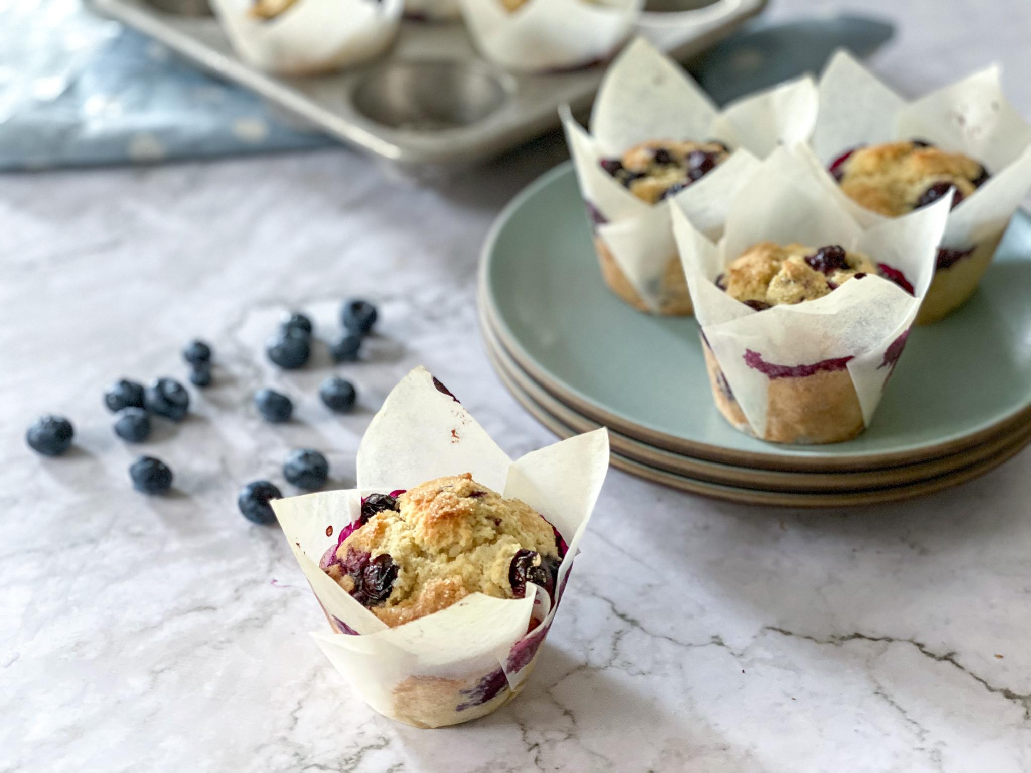 Best Gluten-Free Blueberry Muffins