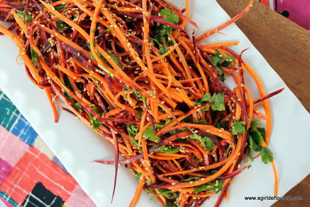 Carrot Sesame Slaw