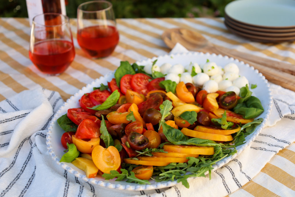 Heirloom Tomato Salad with Bocconcini