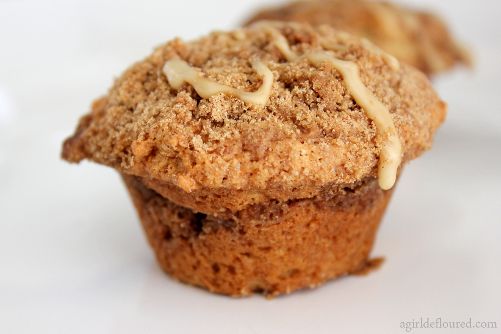 Coffee Cake Muffins Recipe — Dishmaps