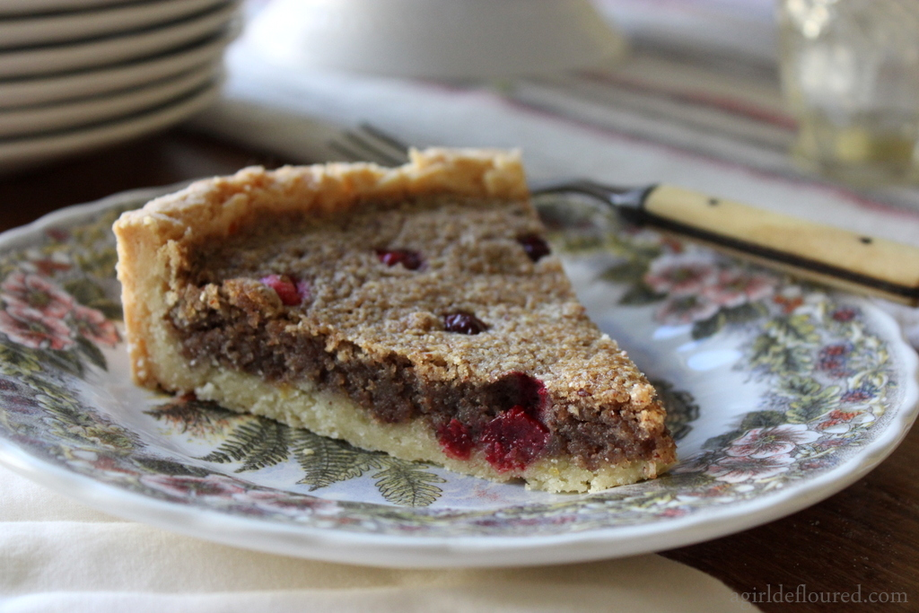 Gluten-Free Cranberry Frangipane Tart