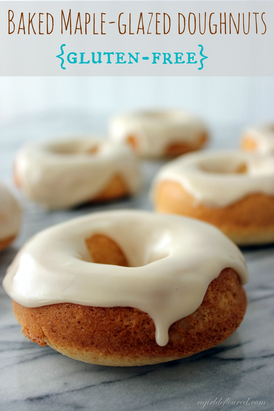 Baked Maple-Glazed Doughnuts