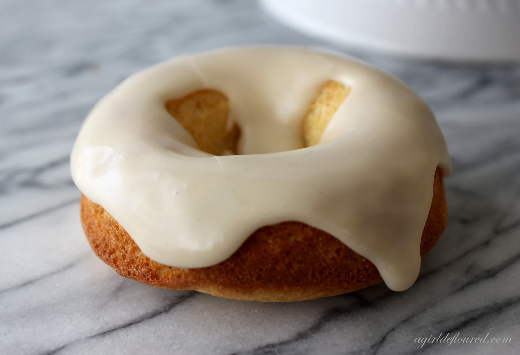 Gluten Free Baked Maple Glazed Doughnuts