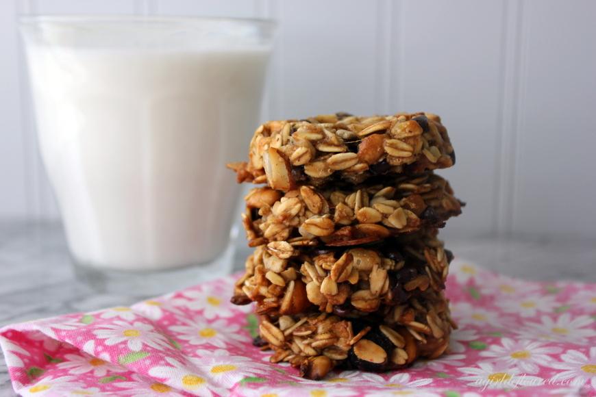 Gluten-free Muesli Breakfast Cookies