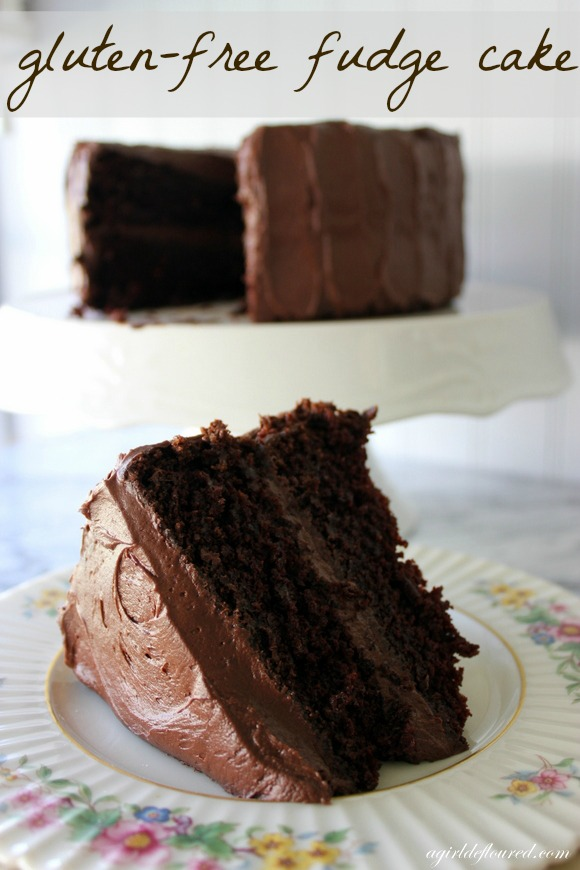 GlutenFree Fudge Cake