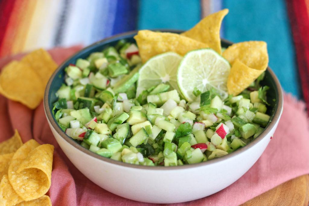 Radish Avocado Salsa