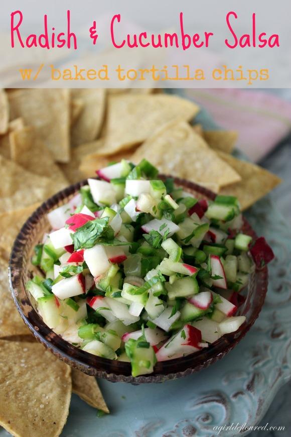 radish & cucumber salsa