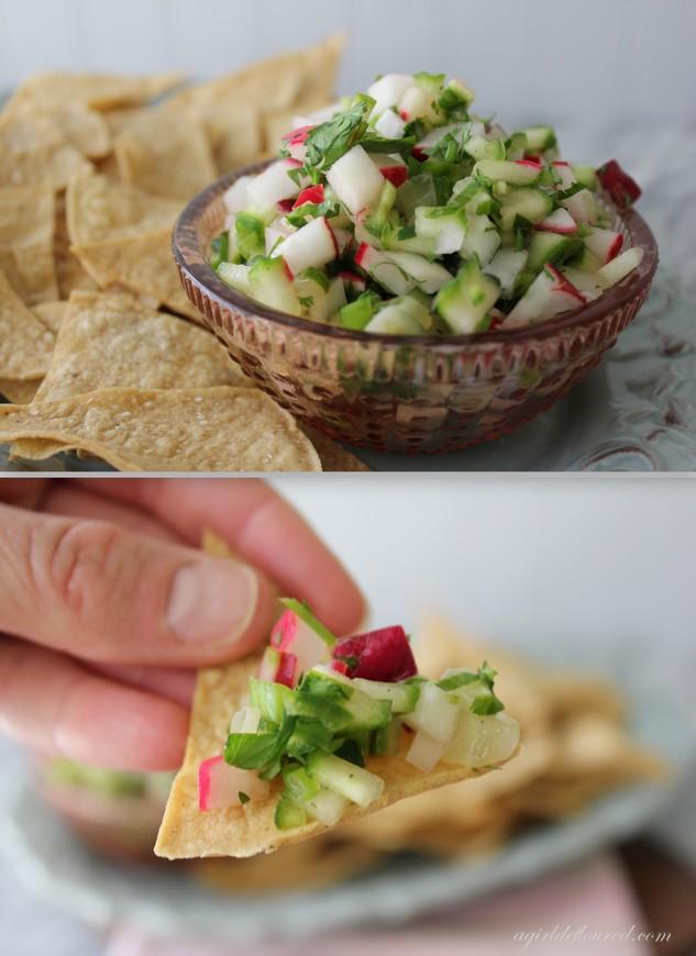 radish salsa
