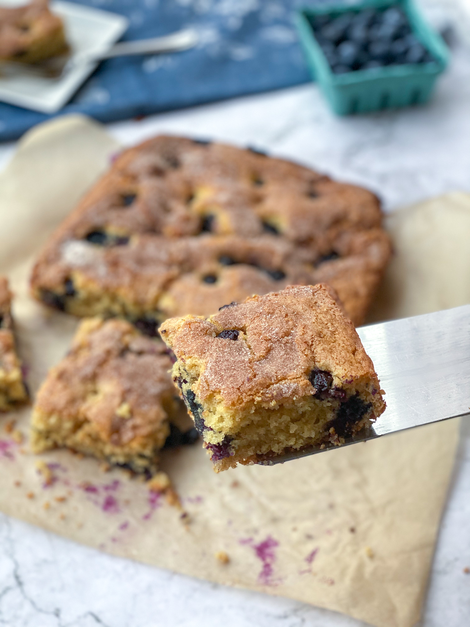 Gluten-Free Blueberry Coffee Cake