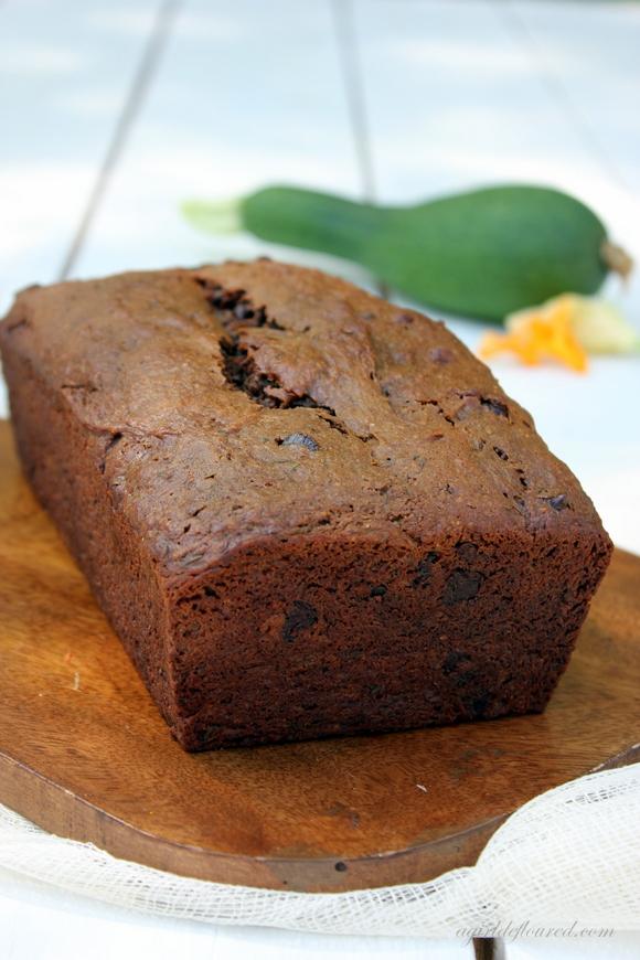 Double Chocolate Zucchini Bread - Gluten Free