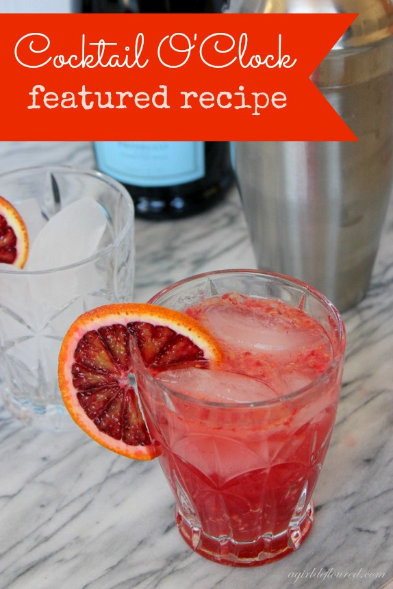 blood orange raspberry smash