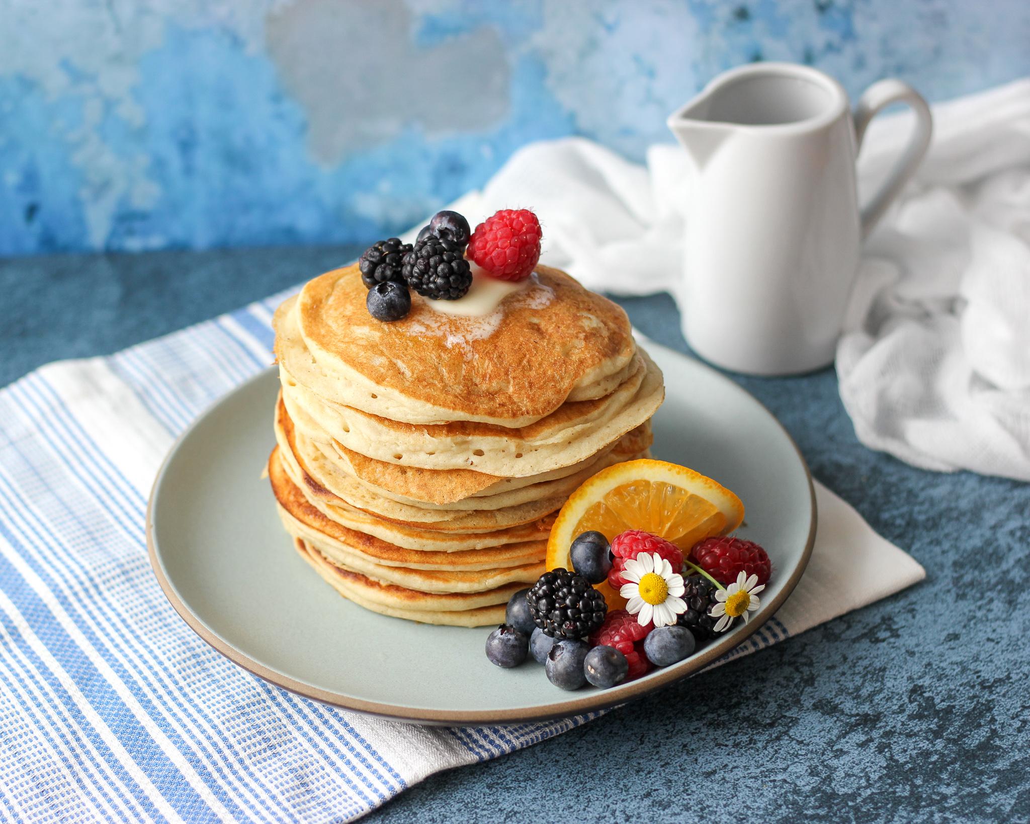 Gluten-Free Buttermilk Pancakes