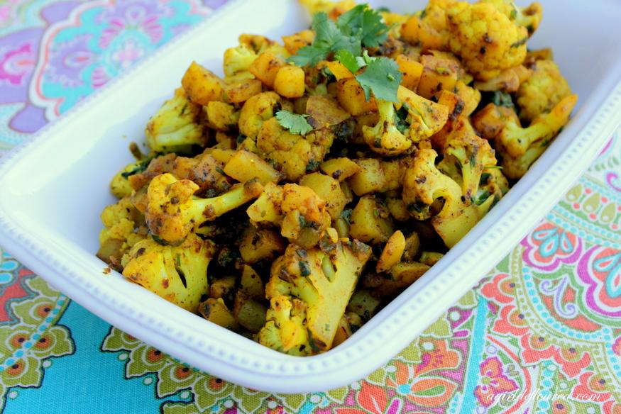 Indian-Spiced Cauliflower & Potatoes