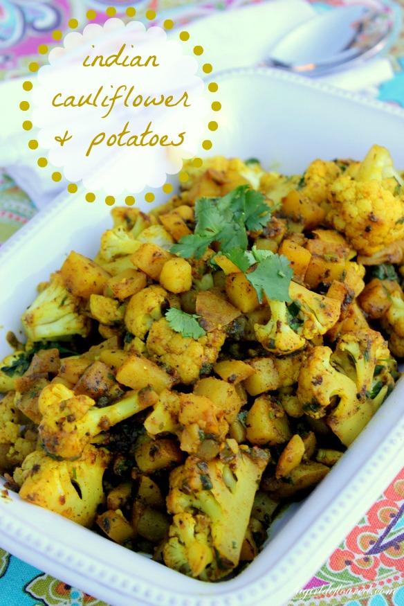 indian cauliflower & potatoes