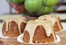 Gluten-Free Mini Caramel Apple Cakes