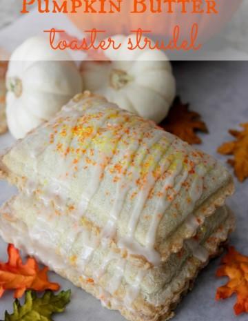 pumpkin butter toaster strudel