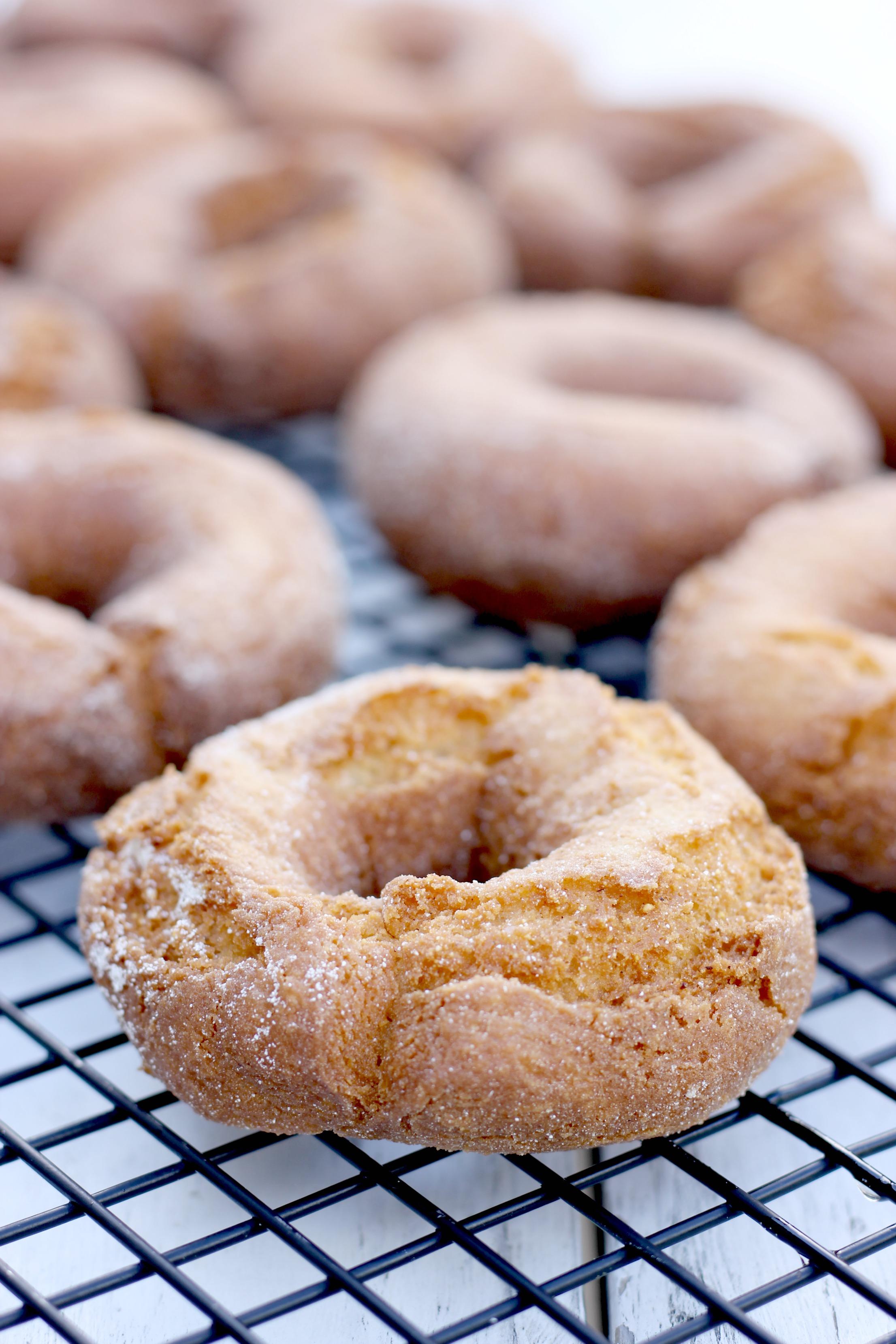 Gluten-Free Old Fashioned Sour Cream Doughnuts