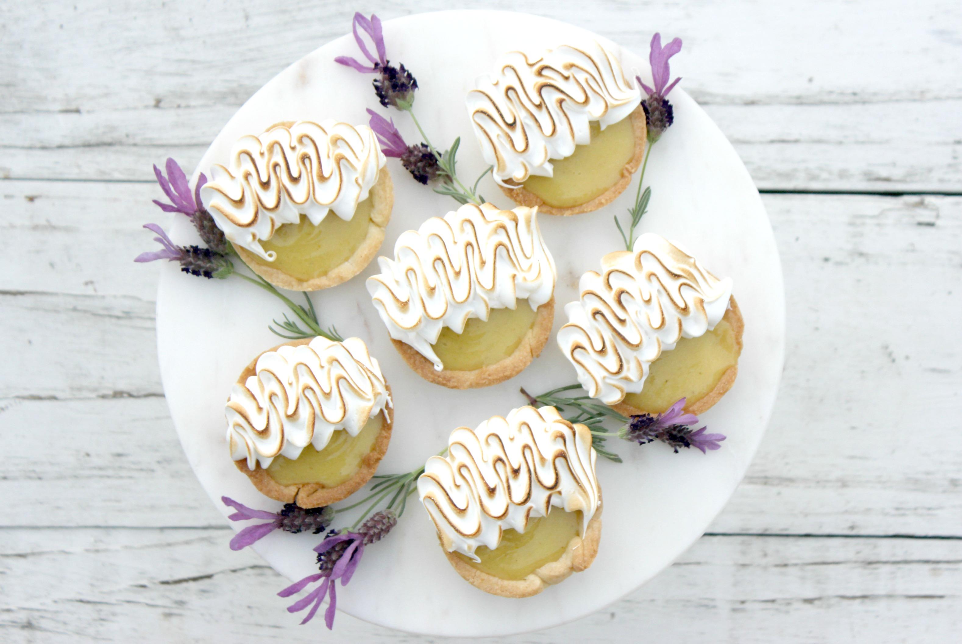 Lemon Lavender Tart 7