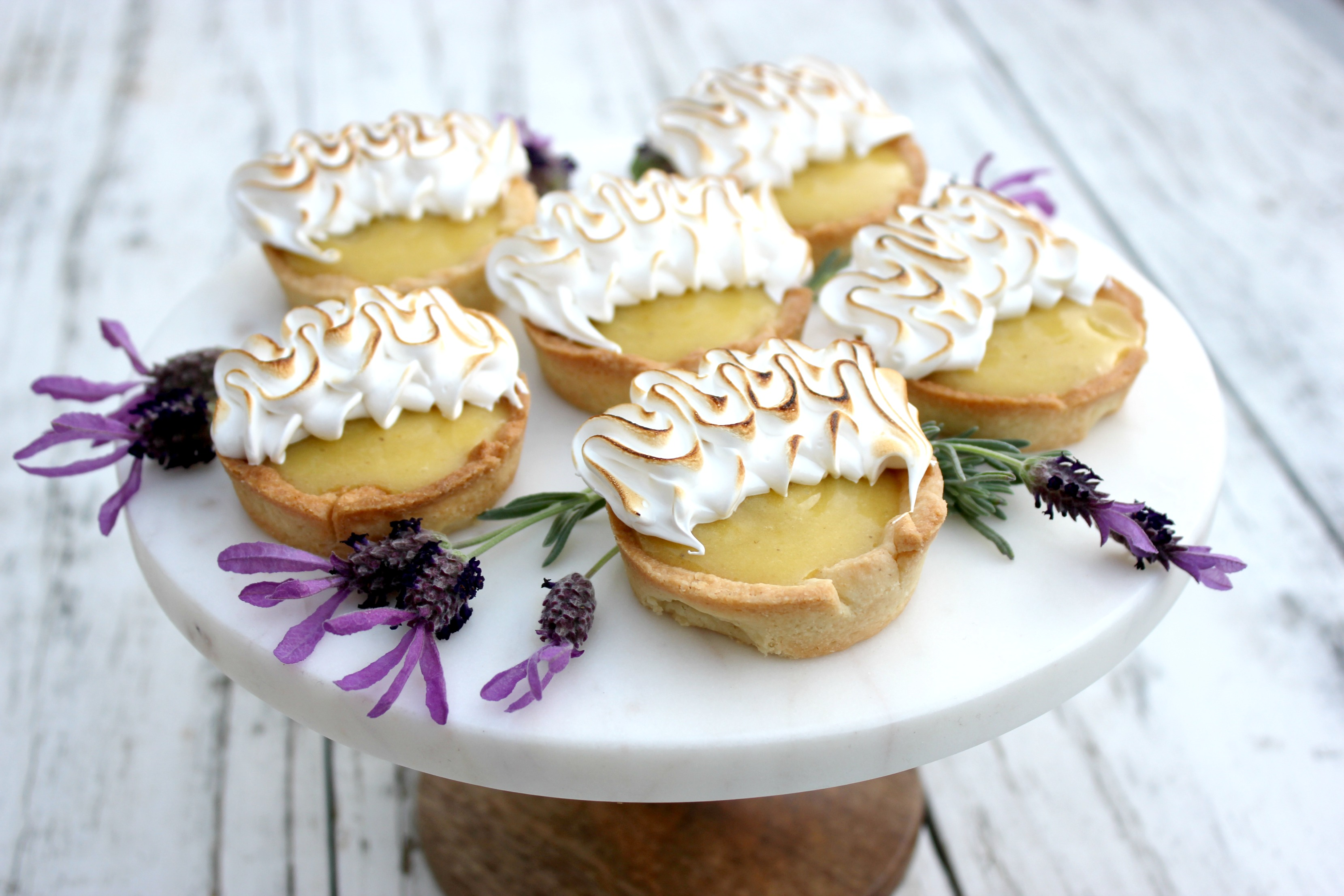 Lemon Lavender Tarts 5