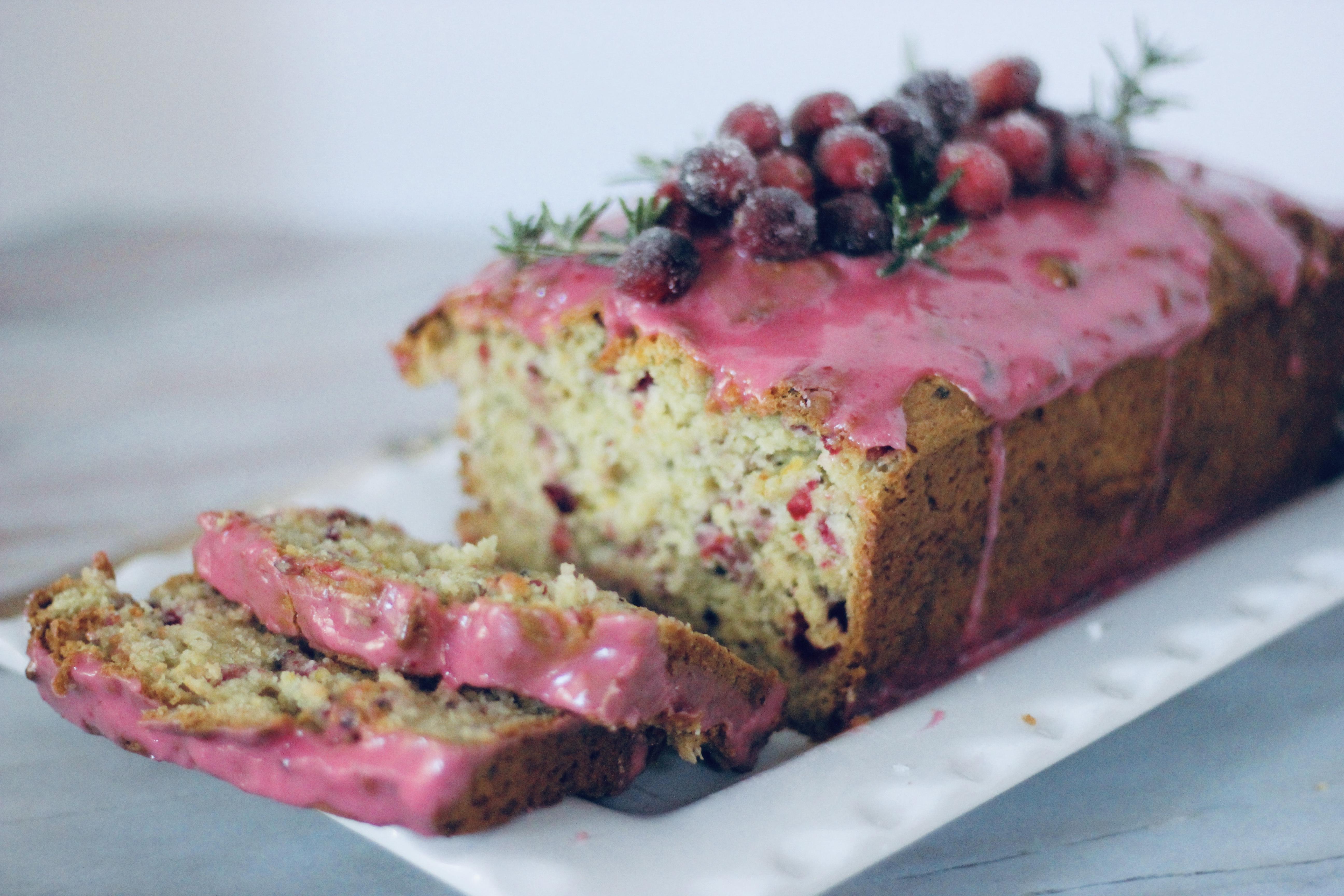 Gluten-Free Cranberry Bread