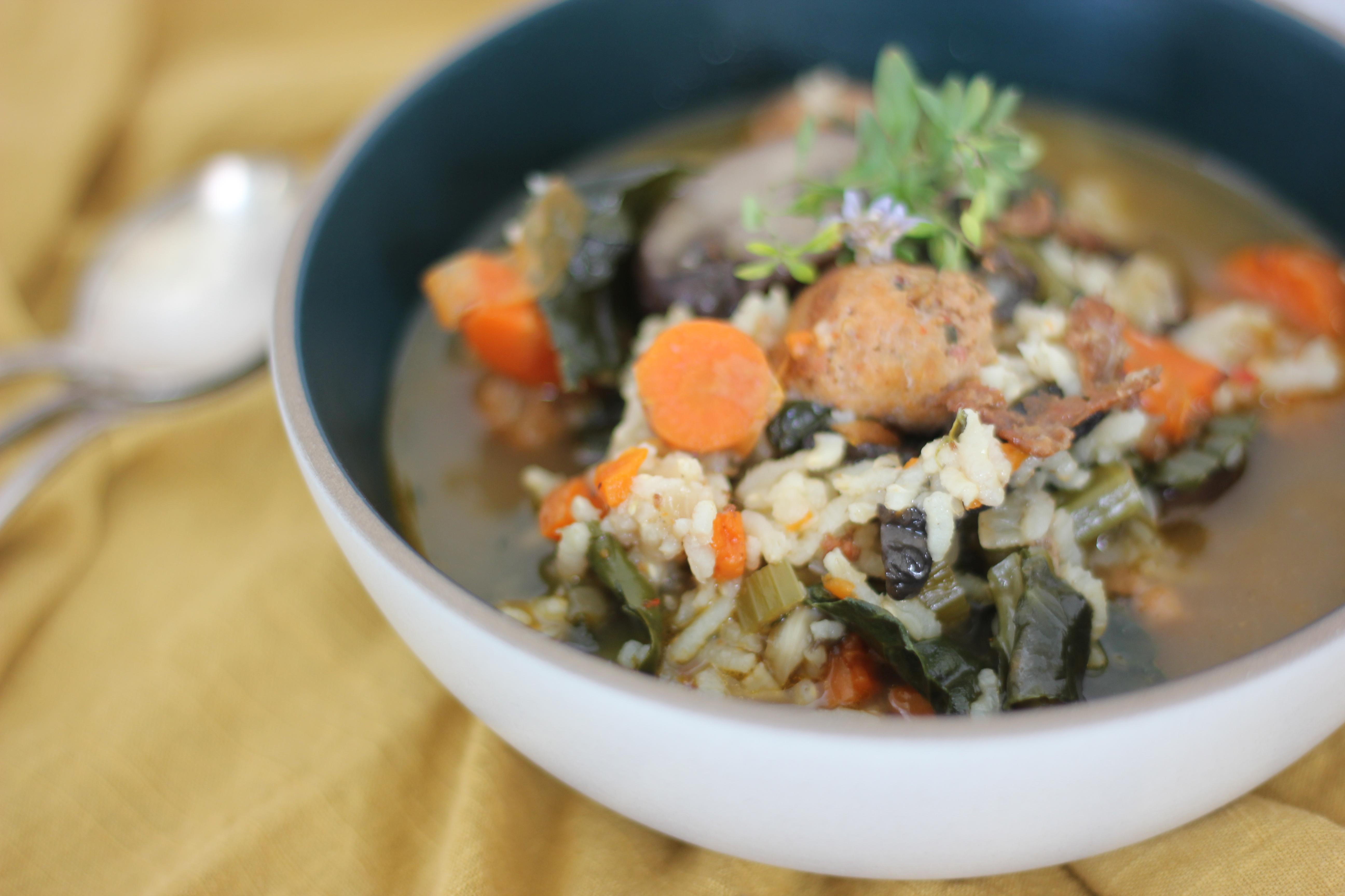 Kale and Sausage Soup