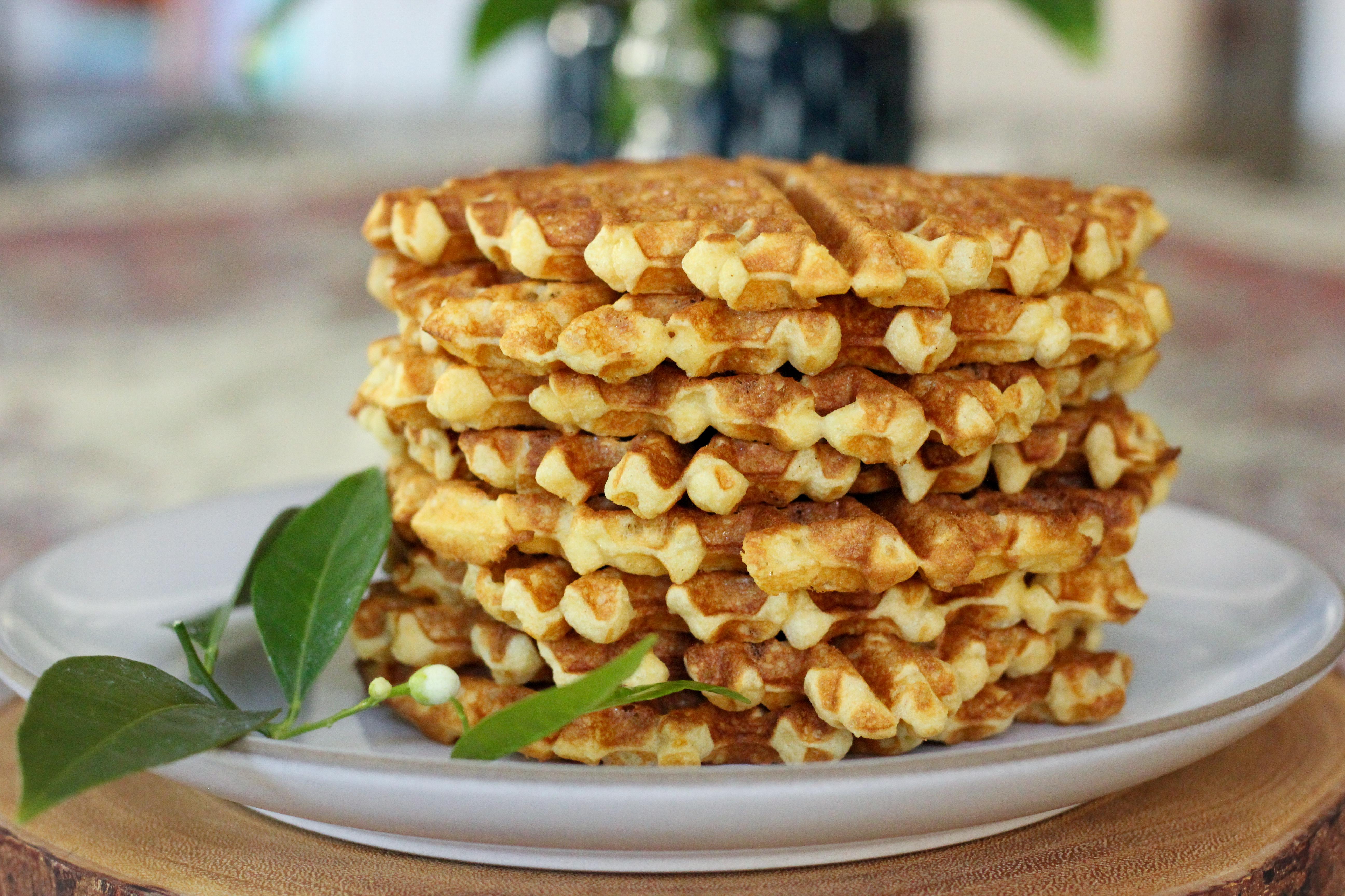 Gluten-Free Orange Blossom Buttermilk Waffles
