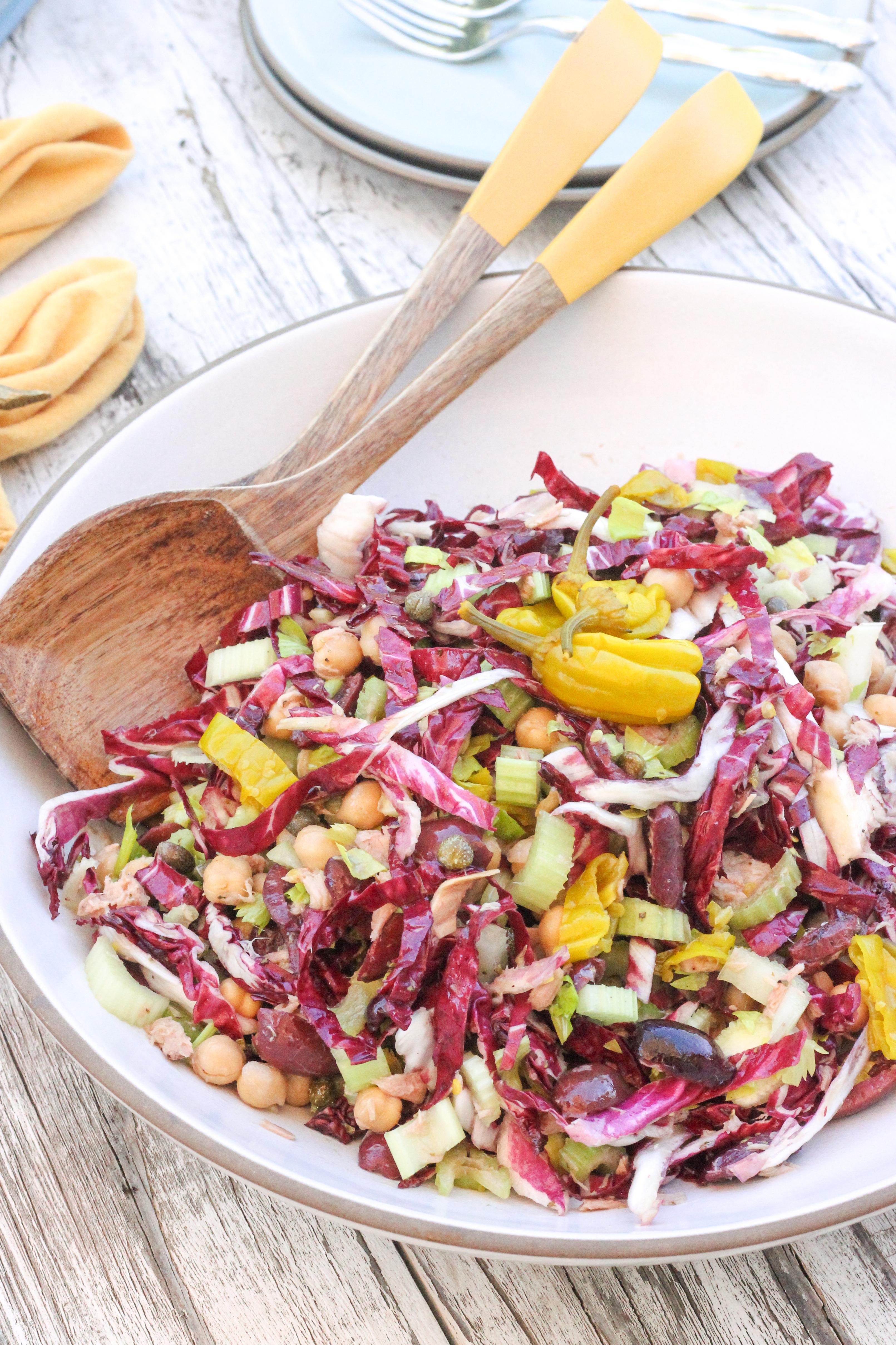 Pantry Staple Chopped Salad