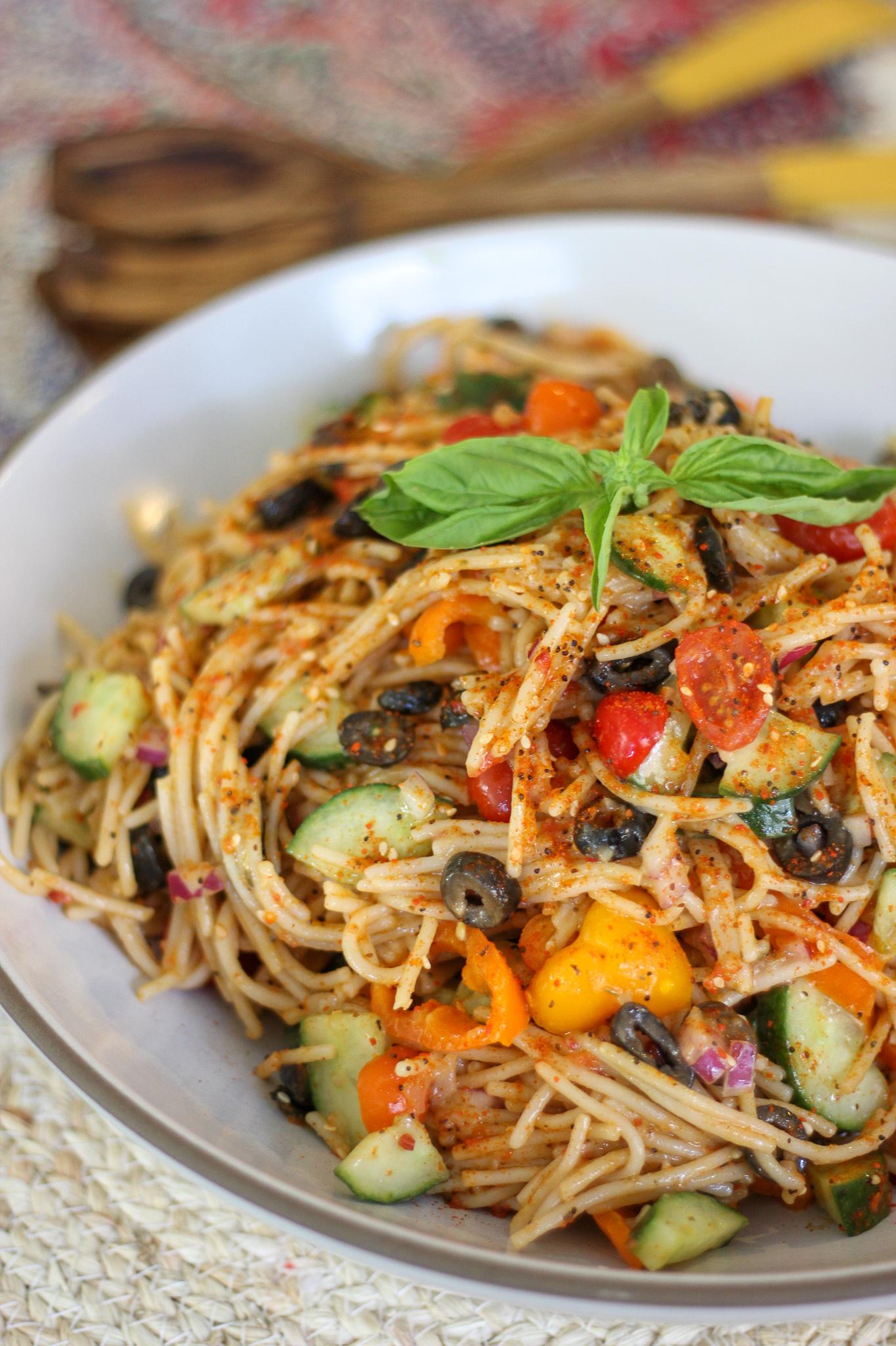 Deli Style Spaghetti Salad