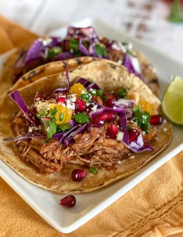 Instant Pot Mole Tacos