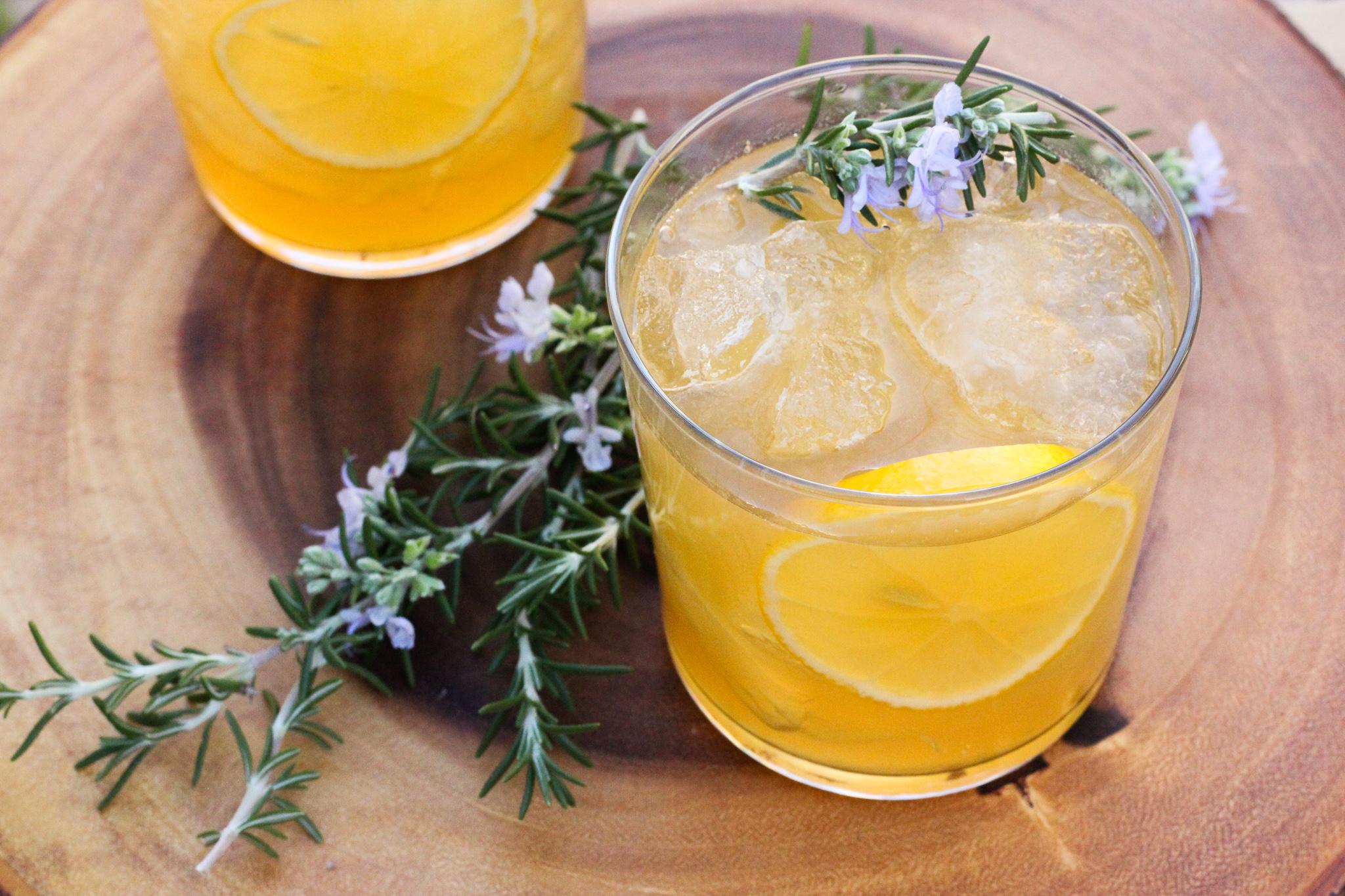 Smoky Lemon Whiskey Sour