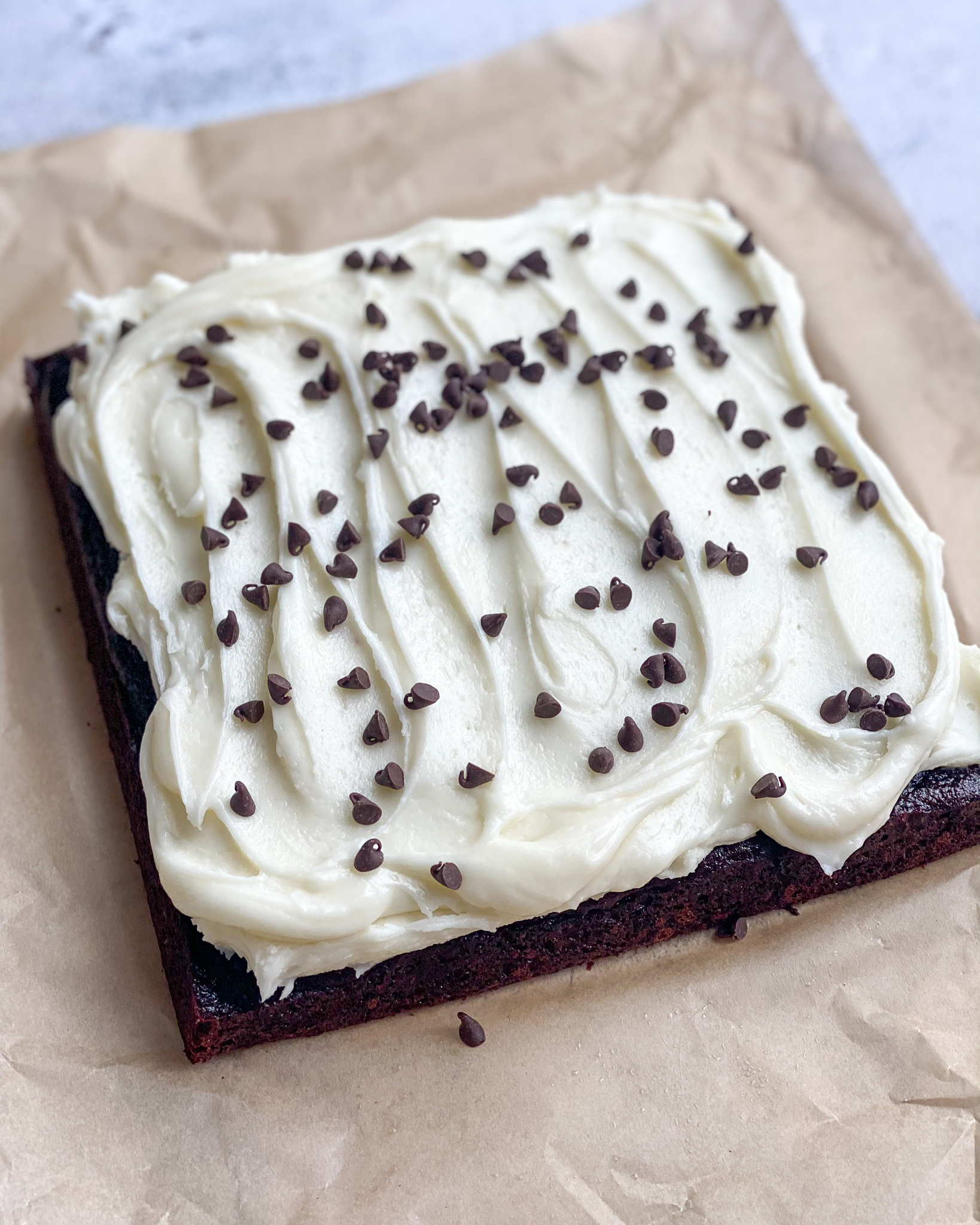Gluten-Free Chocolate Chip Snack Cake