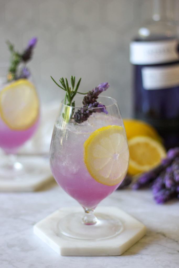 Lemon Lavender Gin Summer Spritz