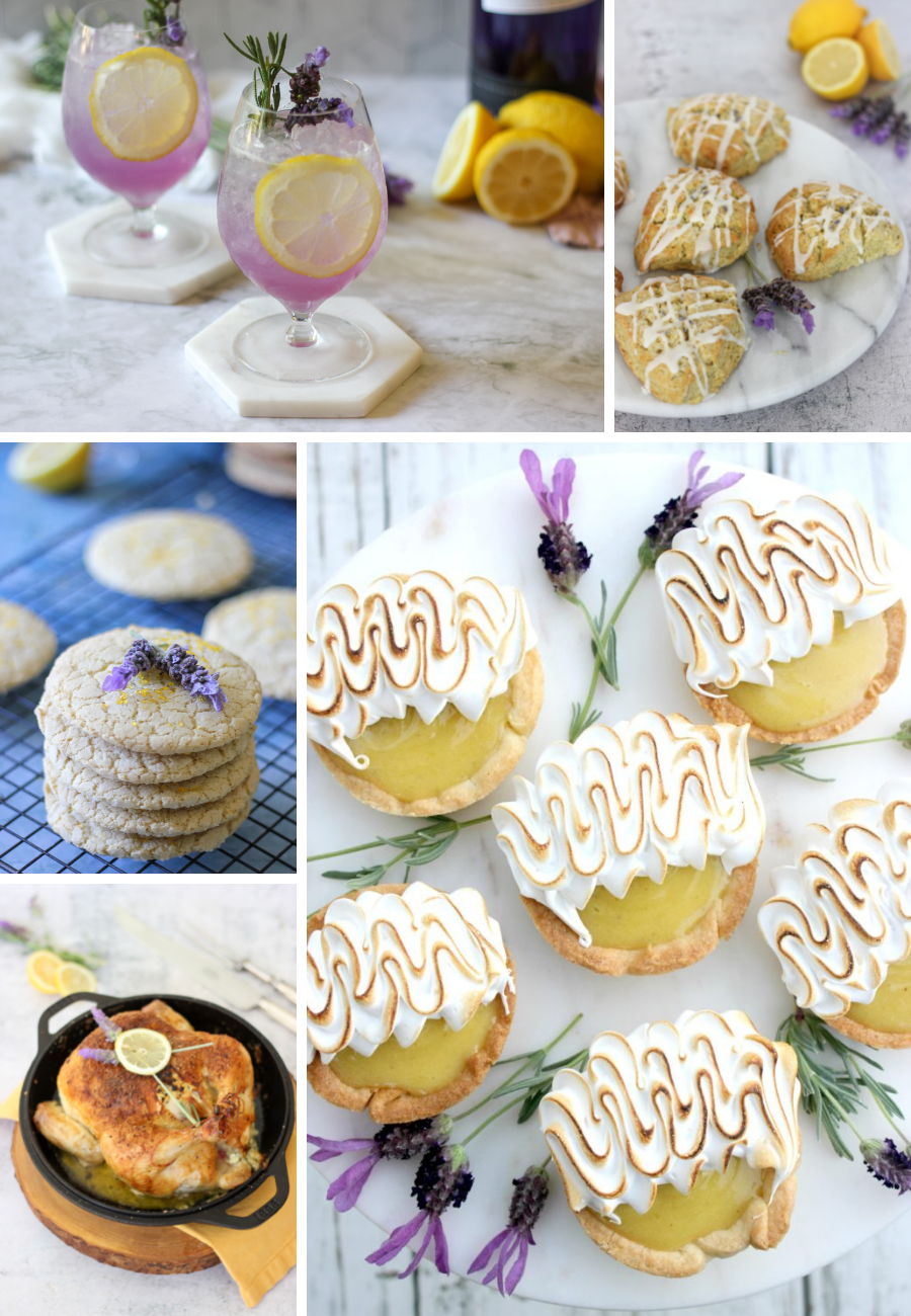 Love Lemon + Lavender? Here are 5 Delicious Recipes